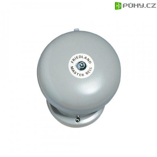 Zvonek Friedland, 581072, 230 V/AC, 100 dBA, šedá - Kliknutím na obrázek zavřete