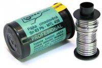 Pájka trubičková 0,8mm 40g 63%Sn 37%Pb+tavidlo MTL408 (Sn63Pb)