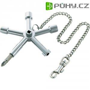 Klíč ke skříňovému rozvaděči Toolcraft, 820914