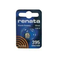 Knoflíková baterie na bázi oxidu stříbra Renata SR57, velikost 395, 55 mAh, 1,55 V