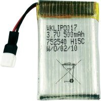Akupack LiPol Reely, 7,4 V, 500 mAh, 15 C