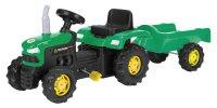 Šlapací traktor s vozíkem BPT 1011 BUDDY TOYS