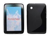 Pouzdro silikonové, Samsung Galaxy Tab 2, P3100, černé