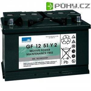 Gelový akumulátor, 12 V/51 Ah, Exide Sonnenschein GF-Y-2 8889766700