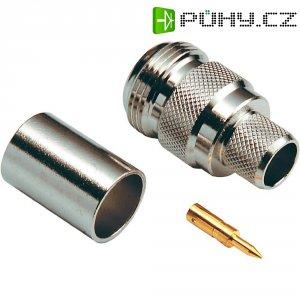 Konektor Reverse N BKL 419506, 50 Ω, zásuvka rovná
