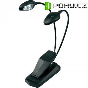 Stolní LED lampička, FL-9025, černá