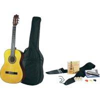 Sada kytary a foukací harmoniky C22 Natural, velikost 4/4