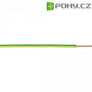 Kabel (licna), LappKabel, H07V-K, 1 x 10 mm², zelená/žlutá