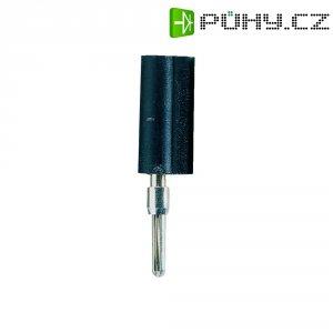 Banánkový konektor Schnepp, zástrčka, rovná, Ø pin: 2 mm, F 2020, černá