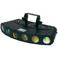 LED efektový reflektor ADJ GOBO Motion, 1222400070, 18 W, multicolour