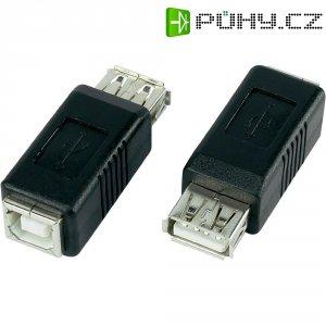 Adaptér USB 2.0, A/B, černý
