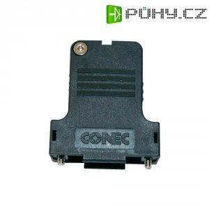 D-SUB pouzdro CONEC, Ø kabelu 13 mm, 25 pólové, černá