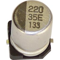 SMD kondenzátor elektrolytický hliník VEV107M016S0ANE01K, 100 µF, 16 V, 20 %, 5,4 x 6,3 mm