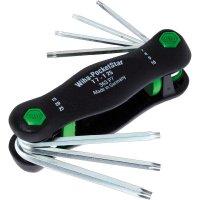 Kapesní sada imbusových Torx klíčů Wiha PocketStar 23053, 2 - 8 mm, 7dílná