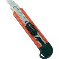 Nůž TOOLCRAFT, 18 mm, hliník