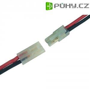 Napájecí kabel Modelcraft, Mini-Tamiya zástrčka/zásuvka, 2,5 mm², 1 pár