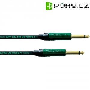 Kytarový kabel JACK 6,3 mm Cordial Road Line CGK ROAD 75, 3 m, černá