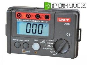 Tester izolačního odporu UNI-T UT502A