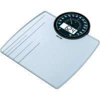 Skleněná váha Beurer GS 58, 766.10, černá/bílá