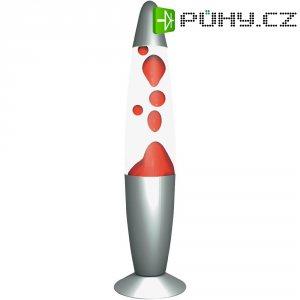 Lávová lampa, 71.761, 20 W, 340 mm, červená