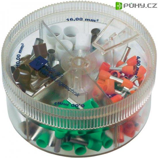 Kabelové dutinky - sortiment v - Kliknutím na obrázek zavřete