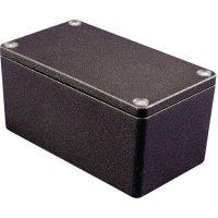 Univerzální pouzdro hliníkové Hammond Electronics 1550Z220BK, (d x š x v) 222 x 146 x 82 mm, černá
