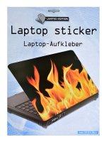 Samolepící dekorace na notebook Oheň
