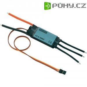 Regulátor otáček Brushless Modelcraft, 7,4 - 22,2 V, 65 A, JR