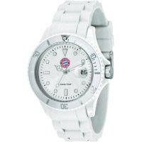 Ručičkové náramkové hodinky FC Bayern Candy Time Quartz, silikonový pásek, bílá