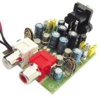 Stavebnice PT014 Předzesilovač pro gramofon s magnetodynamickou přenoskou