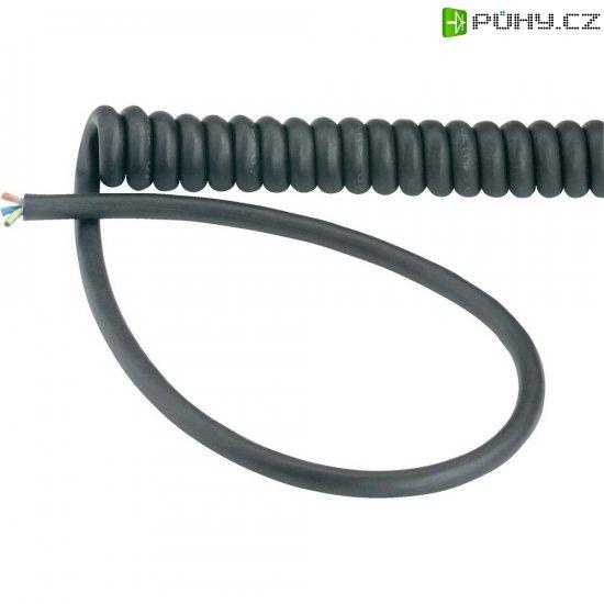 Spirálový kabel LappKabel H05VVH8-F (73222343), 1000/3000 mm, černá - Kliknutím na obrázek zavřete