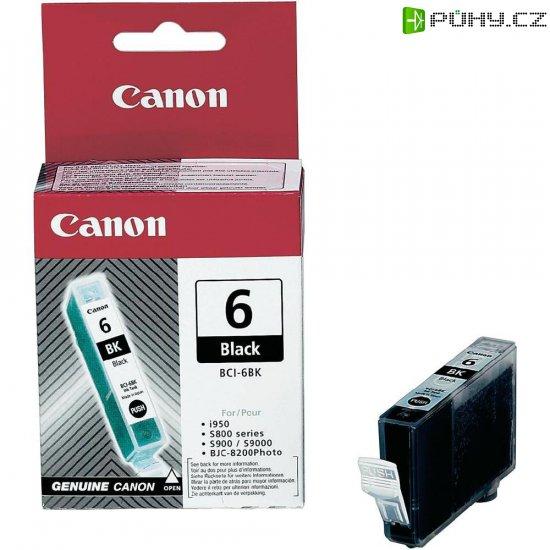 Cartridge Canon BCI-6BK, 4705A002, černá - Kliknutím na obrázek zavřete