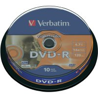 Verbatim DVD-R 4,7GB 16X 10 ks SP LIGHT