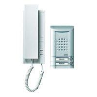 Domácí telefon Ritto Schneider, 1673120, 1 rodina, hliník