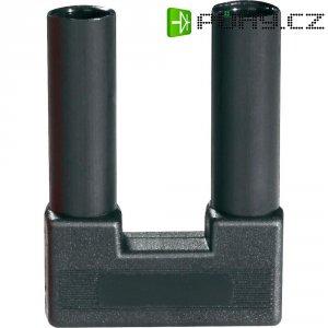 Bezpečnostní zkratovacíkonektor, plně izolovaný SI-FK 19/4 černý