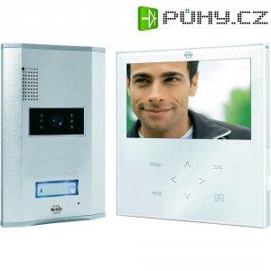 Domácí videotelefon Elro, VD71W, 1 rodina, bílá/hliník