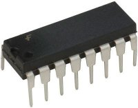 74HCT259 - 8.bit adresovatelná paměť CMOS, DIP16
