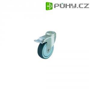 Otočné kolečko se závitem pro šroub a brzdou, Ø 100 mm, Blickle 574509