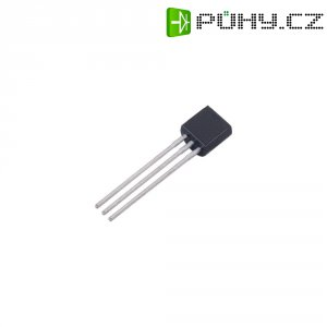 Tyristor ON Semiconductor MCR100-6, 400 V, 0,8 A, TO 92