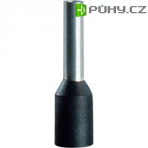Dutinky s plastovým límcem Vogt Verbindungstechnik 460712, 6 mm², 12 mm, černá, 100 ks