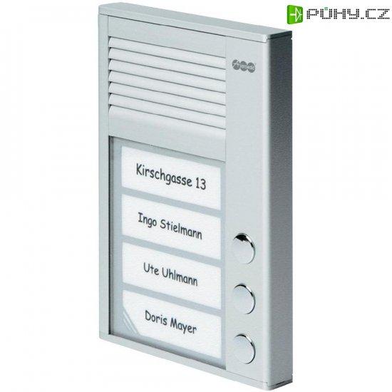 Domácí telefon Auerswald TFS-Dialog 203, 90636, 3 rodiny, stříbrná - Kliknutím na obrázek zavřete