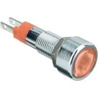 LED signálka s IP67, 12 V, 150mcd, červená