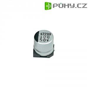 SMD kondenzátor elektrolytický Samwha JC1C107M6L006VR, 100 µF, 16 V, 20 %, 6 x 6 mm