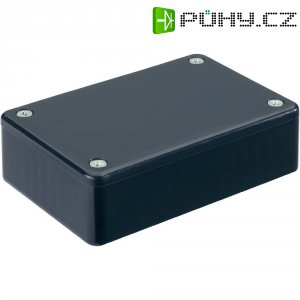 Euro pouzdro Hammond Electronics, (d x š x v) 85 x 56 x 25 mm, černá