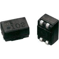 SMD odrušovací cívka Würth Elektronik SL6 744224, 250 µH, 1,2 A, 80 V/DC, 42 V/AC