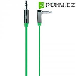 Připojovací kabel Belkin, jack zástr. 3.5 mm/jack zástr. 3.5 mm, zelený, 0,9 m