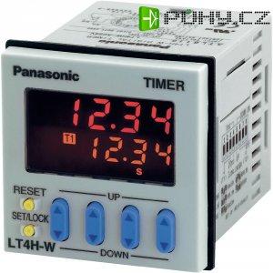 Dvojité relé Panasonic LT4HW240ACSJ, 11pól., 100-240V, šroubový konektor