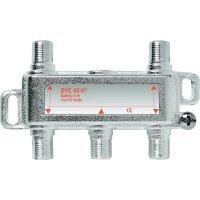 Satelitní rozbočovač Axing, SVE 4-50, 14 dB, 5 - 2400 MHz, 4x LNB, 1x SAT