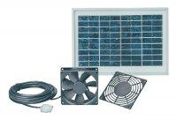 Solární větrací systém Esotec Solar 103008 12 V 5 W