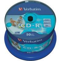 CD-R 80 700 MB Verbatim 43438 50 ks vřeteno s potiskem
